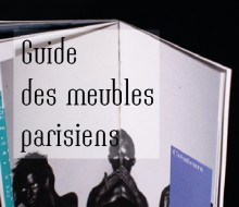 Guide des meubles parisiens (2012)